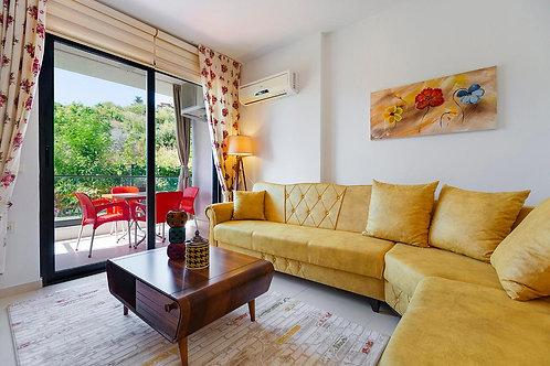Меблированная квартира-студия в комплексе с инфраструктурой СПА-отеля (Кестель)