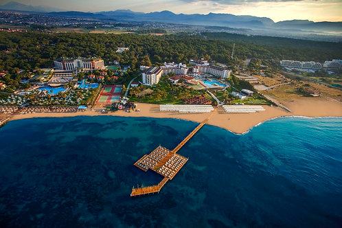 Земля у моря под строительство отеля (arsa) в Манавгате (Сидe)