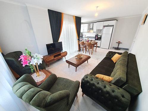 Новые апартаменты-люкс 2+1 и 1+1 в центре Махмутлара