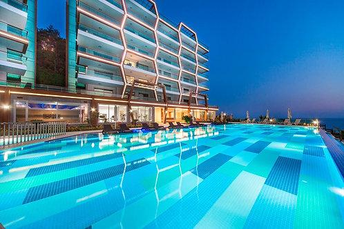 luxury-апартаменты 1+1 с видом на море