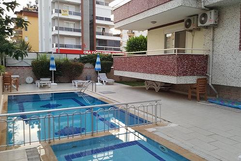 Апартаменты 2+1 в Обе, 300 м до отличного пляжа!