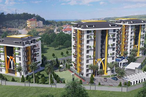 Новый инвестиционный проект: квартиры в роскошном комплексе 5* (Авсаллар)