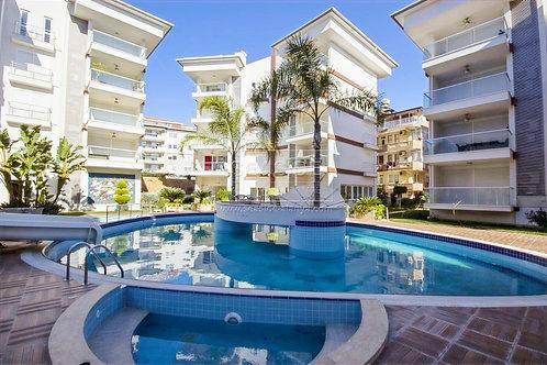 """Апартаменты """"люкс"""" 2+1 с мебелью и тремя балконами в Riviera garden (Оба)"""