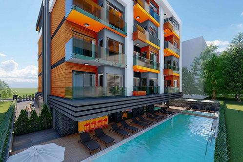 NOBBY SUITE: камерный жилой комплекс в 550 м от моря в самом центре Аланьи