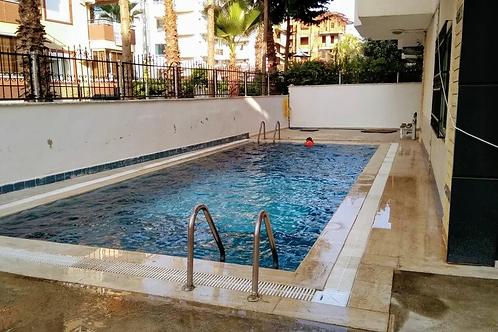 Квартира 1+1 в центре Обы: бассейн, 250 м до моря!