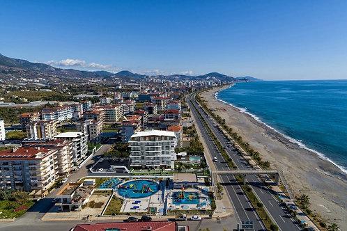 Участок под строительство отеля или ЖК в Кестеле (156 метрах от моря)