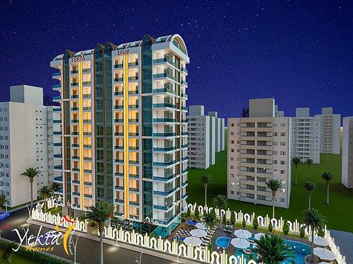 Yekta BLUE Residence  — комплекс элит-класса на берегу Средиземного моря!
