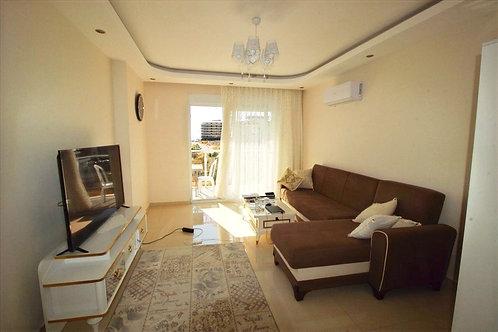 Меблированные апартаменты 1+1 в комплексе с огромным бассейном (Кестель)