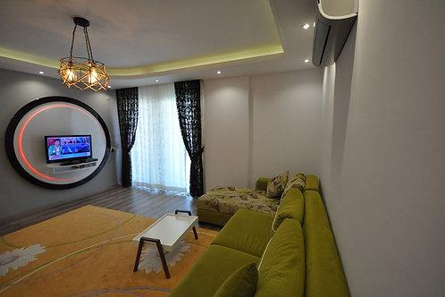 Красивая, меблированная квартира-люкс 1+1 в Кестеле