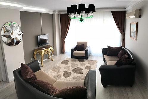 Новые, меблированные апартаменты 2+1 в Обе (южная сторона, панорамный вид!)
