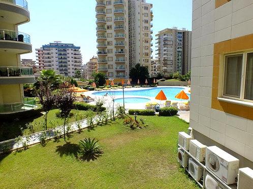Апартаменты 2+1 в комплексе с большой, зелёной территорией и СПА-инфраструктурой