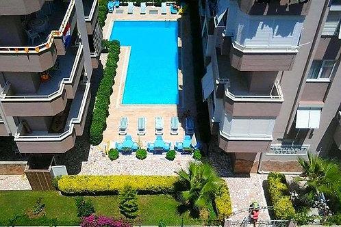 Апартаменты 2+1 в еврокомплексе с бассейном (Махмутлар)