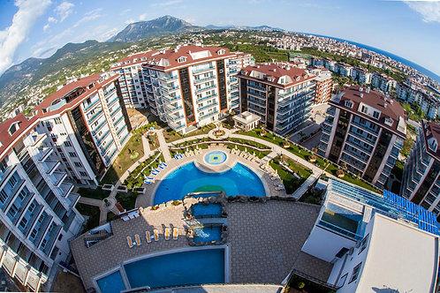 Апартаменты для большой семьи (3+1) в комплексе премиум-класса