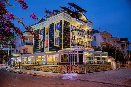 Стильный городской бутик-отель в 190 м от моря (Фетхие)