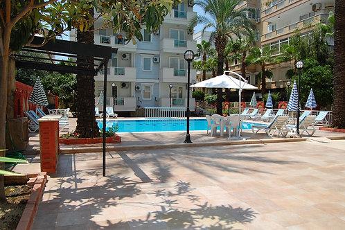 Апартаменты 2+1 в 50 м от пляжа (Оба)