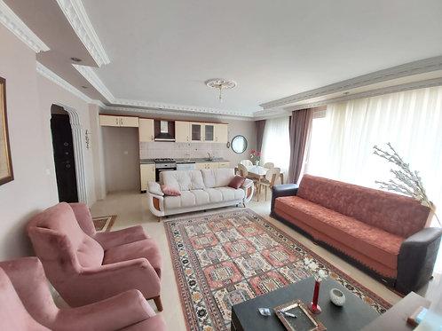 Уютные апартаменты 2+1 с мебелью в центре Махмутлара, 300 метров от моря