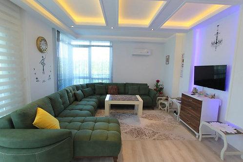 Меблированные апартаменты 1+1 в Авсалларе