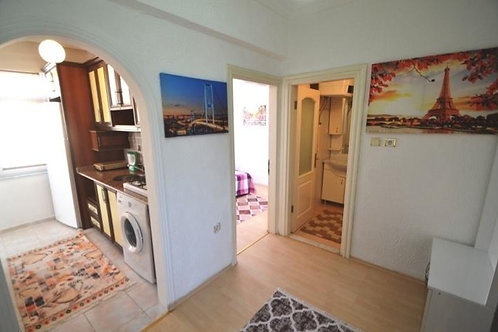 Меблированная квартира 1+1 с отдельной кухней (Махмутлар)