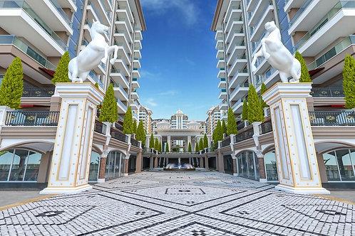 Роскошные квартиры в жилом комплексе Yekta Kingdom Trade Center