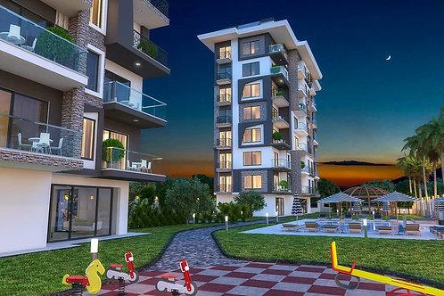 Апартаменты 1+1 на 1 линии моря