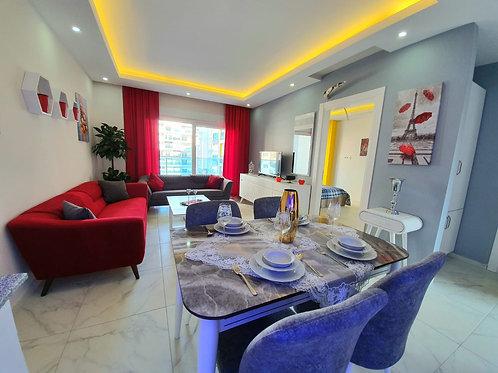 Новая квартира-люкс 1+1 с мебелью и бытовой техникой
