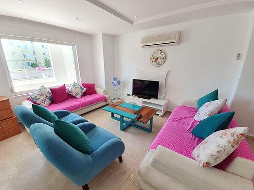 Апартаменты 2+1 с мебелью и техникой (Махмутлар)
