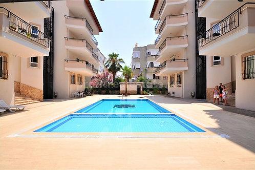 Меблированные апартаменты 2+1 в 300 м от пляжа (Оба)