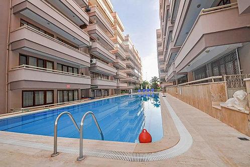 Меблированные апартаменты 1+1 в Махмутларе (1 линия моря, свой пляж!)