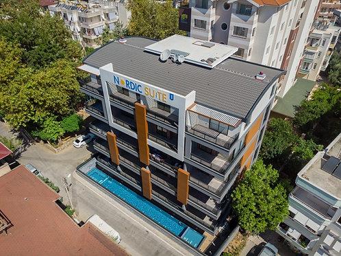 Осталась одна квартира! Nordic Suite: эксклюзивный бутик-проект в центре Аланьи