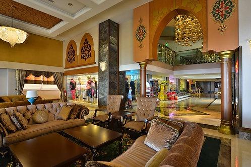 Пятизвёздочный халяльный отель с идеальным пляжем (Авсаллар)