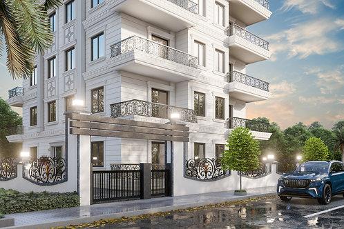 Новый инвестиционный проект в Махмутларе - роскошные апартаменты  1+1 и 2+1