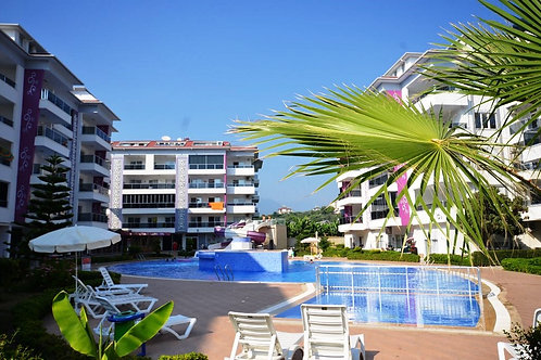 Меблированные апартаменты 1+1 в 100 м от Моря (Кестель)