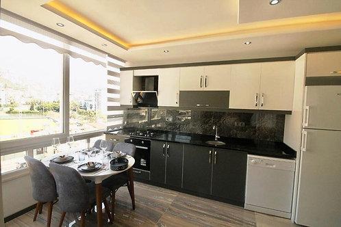 Стильные апартаменты 1+1 в центре Аланьи (430 м до пляжа Клеопатры!)