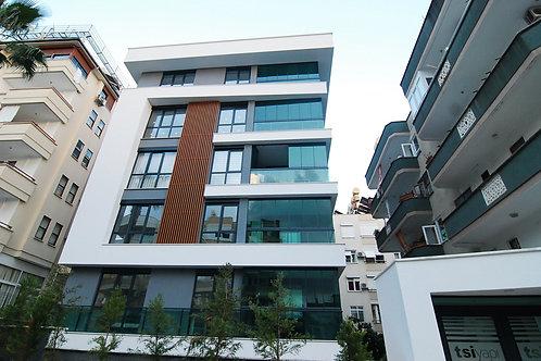 Новые апартаменты 2+1 с отдельной просторной кухней (пляж Клеопатры)