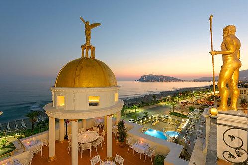 Концептуальный отель на берегу Средиземного моря, работает 12 месяцев!