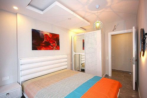 Новые меблированные апартаменты 1+1 (Махмутлар)