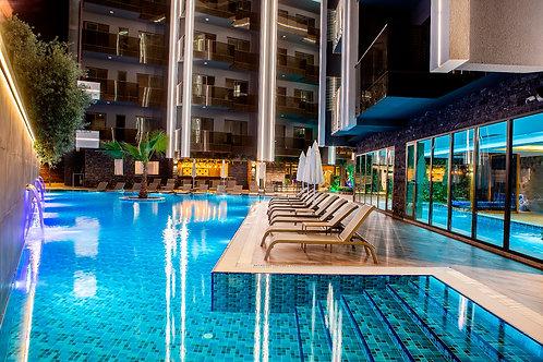 Апартаменты элит-класса в центре Аланьи (пляж Клеопатры)