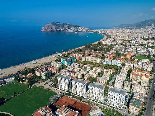 Роскошные апартаменты в самом престижном ЖК Анатолийского побережья!