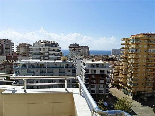 Апартаменты 2+1 в комплексе с бассейном и садом (Махмутлар)