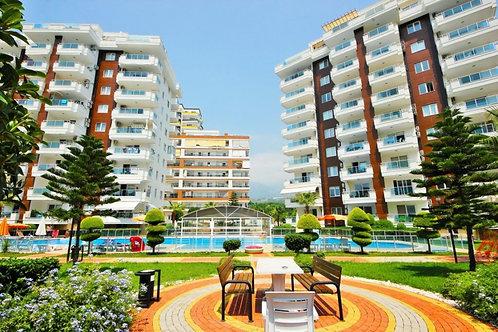 Меблированные апартаменты 1+1 в комплексе с огромной территорией