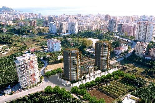 Апартаменты 1+1 в мусульманском комплексе (Махмутлар)