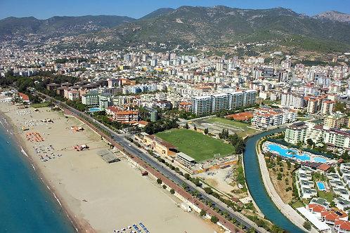 Апартаменты 2+1, меньше 200 м до пляжа на фото! (Оба)