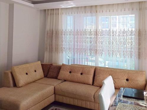 Большие апартаменты 1+1 с новой мебелью, техникой, кондиционерами