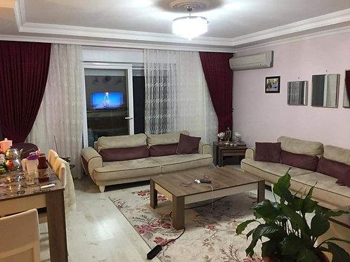 Меблированные апартаменты 2+1 в еврокомплексе с садом и бассейном (Махмутлар)