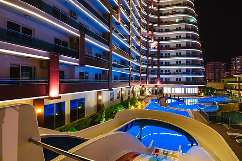 Апартаменты элит-класса 1+1 с мебелью и техникой в Lumos Residence