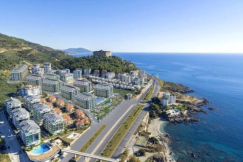 Новый проект Konak Premium: вид на море, собственный молл и пляж (Каргыджак)