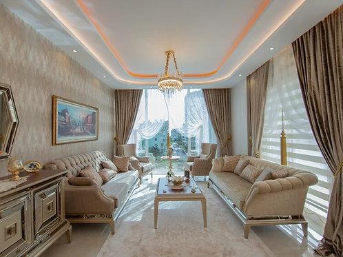 Огромный пентхаус 3+2 в лучшем жилом комплексе Махмутлара - YEKTA ALARA