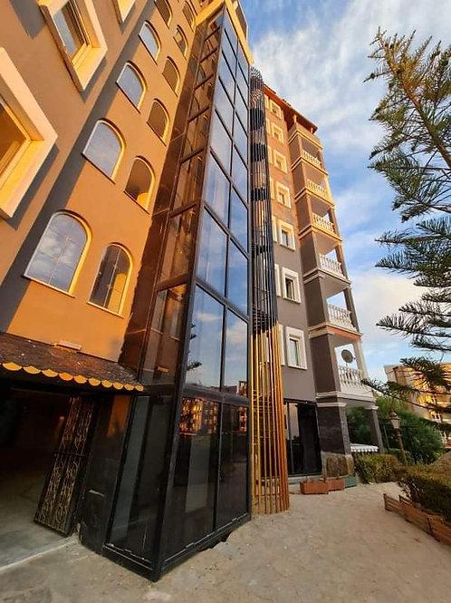 Бюджетные апартаменты 1+1 в Кестеле (отель 3* с собственным пляжем)