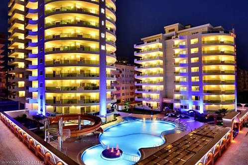 Меблированные апартаменты 2+1 в элитном комплексе Yekta