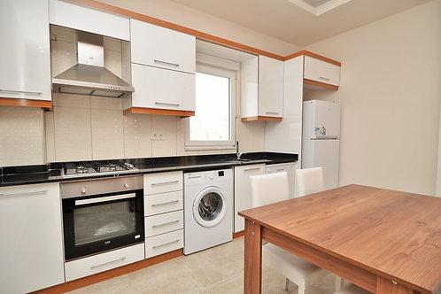 Просторные апартаменты 2+1 с мебелью и техникой (Махмутлар)